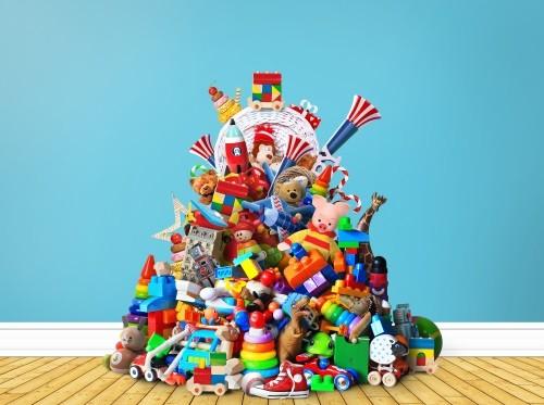 Spielzeug für die Kinderklinik